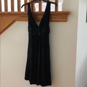 Kenneth Cole black swim coverup/knit dress